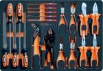 Набор шарнирно-губцевого инструмента и напильников CUSTOR PRO-3