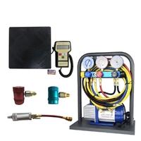 Установка для заправки кондиционеров в комплекте KraftWell (КНР) KRW134ALC