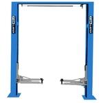 Подъемник двухстоечный 4т. KraftWell KRW4DLU/220_blue