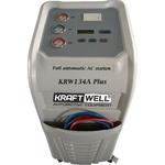 Установка для заправки кондиционеров автомат KraftWell KRW134A Plus