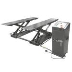 Подъёмник ножничный короткий мобильный г/п 3000 кг. KraftWell KRW3TN