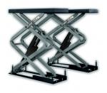 Подъемник ножничный короткий г/п 3000 кг. KraftWell KRW3U