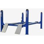 Подъемник четырехстоечный для сход развала г/п 5500 кг. KraftWell KRW5.5WA_blue