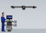 Стенд сход развал 3D Техно Вектор 7 PRO, 7204 K A