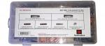Универсальный набор запчастей для горелки MIG-150 (48 шт.) RedHotDot MA38150