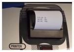 Принтер встраеваемый для установки RR400