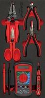 Набор инструмента для электрика, 6 пр. AmPro T28476