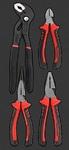 Набор губцевого инструмента, 4 пр. AmPro T28595