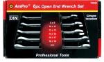 Набор ключей рожковых 8 -19мм, 6 пр. AmPro T40590
