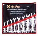 Набор ключей рожковых 6-32мм,12 пр. AmPro T40592