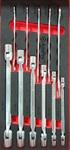 Набор шарнирных и рожковых ключей, 11 пр. AmPro T40994