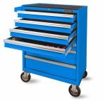 Тележка инструментальная (синяя) без инструмента, 7 ящиков AmPro T47119-RAL5015