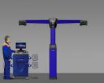 Стенд сход-развал 3D Техно Вектор 7 PRO V 7204 T S Серия Steel