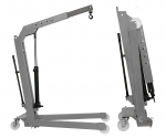 Кран гидравлический гаражный 500 кг.  Werther OMA W107SE(OMA586)_grey
