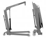 Кран гидравлический гаражный г/п 500 кг. Werther OMA W107(OMA589)_grey