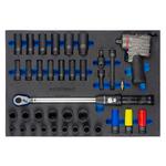 Набор инструмента гайковертом WDK-3720S